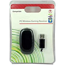 New World Windows PC Wireless USB Receiver Gaming Adapter For Xbox 360 Controller Black