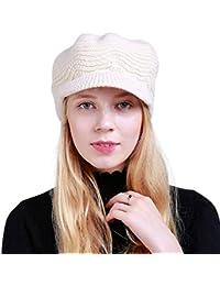 DORRISO Moda Basco Donna Berretto Primavera Autunno Inverno Caldo Cappelli  Francese Cappello Basco Berretto Viaggio Vacanza d23dc4ea1968