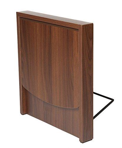 Mesilla auxiliar plegable para sofá, para extremo de sofá, madera laminada