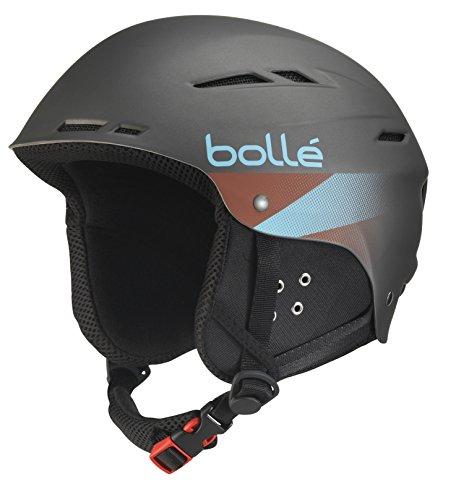 bollé Helm B-Fun grau Soft Grey 54-58 cm