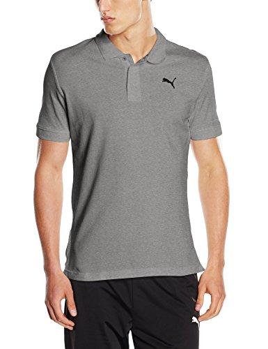 Puma Herren Ess Pique Polo Shirt - Schwarz (Cotton Black-_Cat) , S