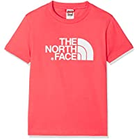 The North Face Y S/S Easy tee Camiseta, Niños, Rosa, S