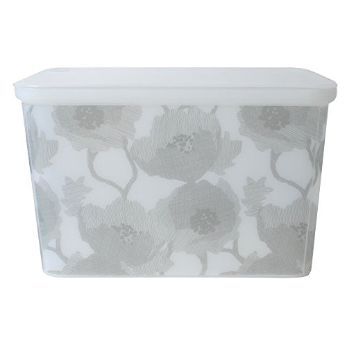 Curver Storage box White with lid and Skyline Decor 20L stackable