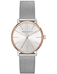 Armani Exchange Lola Analog Silver Dial Women's Watch - AX5537