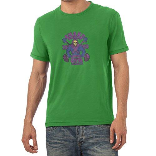 TEXLAB - Snake Mountain Fitness - Herren T-Shirt Grün
