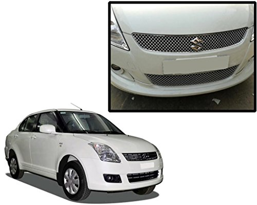 Auto Pearl - Premium Quality Car Chrome Front Grill For - Maruti Suzuki Swift Dzire Old Model (Type 1)  available at amazon for Rs.2599