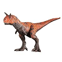 Carnotaurus, Jurassic World Action Attack Carnotaurus Figure, Realistic Dinosaur Figure Toy Hand-Painted Prehistoric Dinosaur Figurine Model Life Collection For 3 4 5 6 7 8 Years Old Toddlers