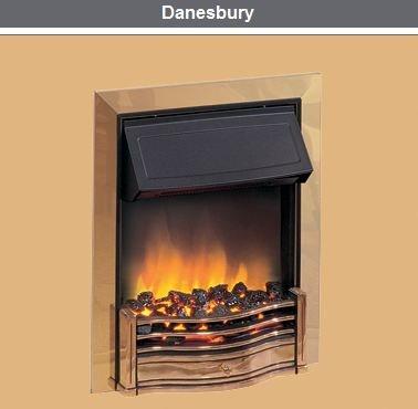 Dimplex Danesbury Optiflame Chrome Inset Electric Fire