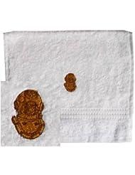 Handtuch aus Frottee mit Bestickung Taucherhelm