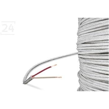 glasseide kabel glasseide leitung 2 leiter 10 meter k che haushalt. Black Bedroom Furniture Sets. Home Design Ideas