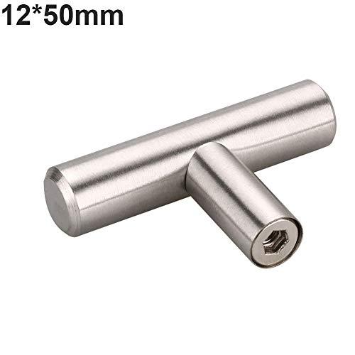 armadietto, 10PCS nichel spazzolato cucina maniglie in acciaio INOX barra a T