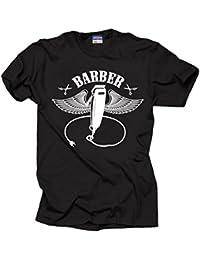Milky Way Tshirts Barbero Barbero Camiseta Camisa de los Hombres