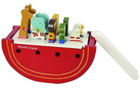 Maileg Wooden Noah's Ark -Red