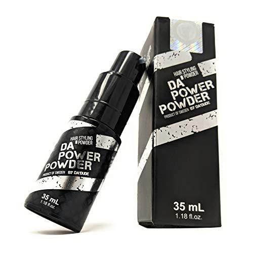 Da'Dude Da Power Powder Haar Puder für Männer und Frauen - Haarpuder volumen - Volumenpulver mit Matt Effekt