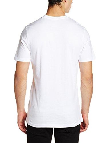 adidas Trefoil Camouflage T-Shirt Herren weiß / oliv