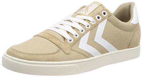 Hummel Unisex-Erwachsene Slimmer Stadil Mono Sneaker, Beige (Nomad), 39 EU