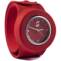 Original Red Slappie Slap Watch (BBC Dragons Den Winner) Adults/Kids Size Large