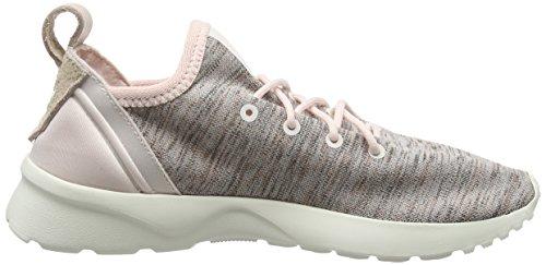 adidas Zx Flux Adv Virtue Socks, Baskets Basses Femme Rose (Halo Pink/Halo Pink/Core White)