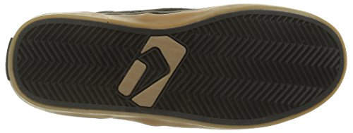 Globe Unisex-Erwachsene Motley Sneakers Schwarz (black/black/gum)
