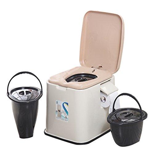 MyAou-commode Toilette Chaise Portable Toilette Antidérapante Toilette Voyage Camping Randonnée Pique-Nique en Plein Air (Couleur : A)