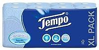 Tempo Toilet Tissue - 3 Ply (16 Rolls, Blue)
