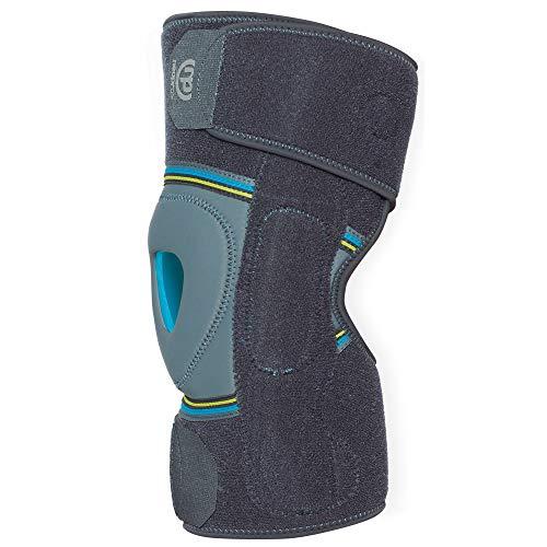Kniebandage, Neopren-Umlauf, mit polyzentrischem Scharnier, erhältlich in 3 Größen - Serie Linken Scharnier