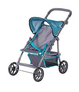 Knorrtoys 16884 - Cochecito de bebé para muñecas, Color Azul