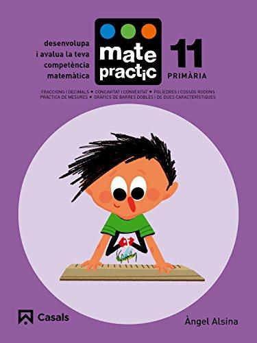 Quadern Matepractic 11 Primària - 9788421858448 (Matepractic català)
