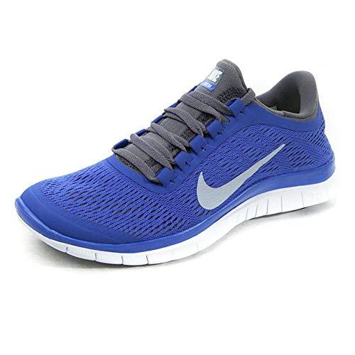 Nike Free 3.0 V5 Women Laufschuhe white-cool grey-violet force - 38