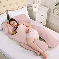 Novo Cotton Beige Free Size Pregnancy Pillow, 145 x 80 x 25cm - 1 Piece