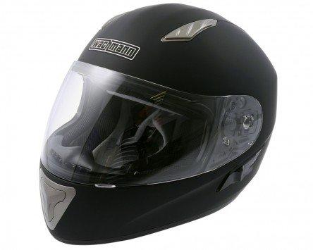 Einstellbare Wangenpolster (Integralhelm / Motorradhelm WACHMANN WA-10S Patronus schwarz matt - Größe M)