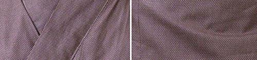 Japanischer Herren Yukata Kimono Baumwolle One Size M L XL Braun - 4