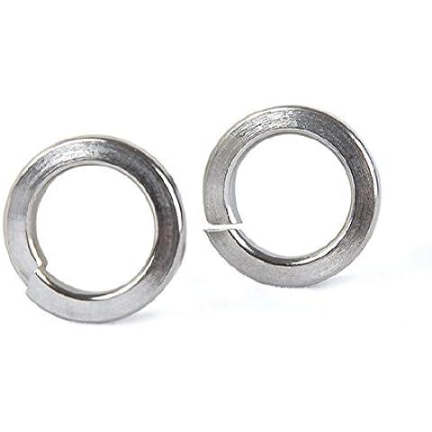 100pcs M3 304 acciaio inossidabile Rondella rondelle Split blocco