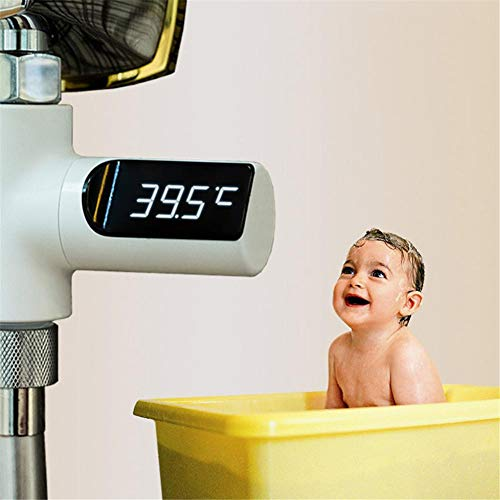 Led-Anzeige Thermometer Wasser Dusche Thermometer LED-Anzeige Hauptwasser Dusche Thermometer Durchfluss Wassertemperatur Monitor