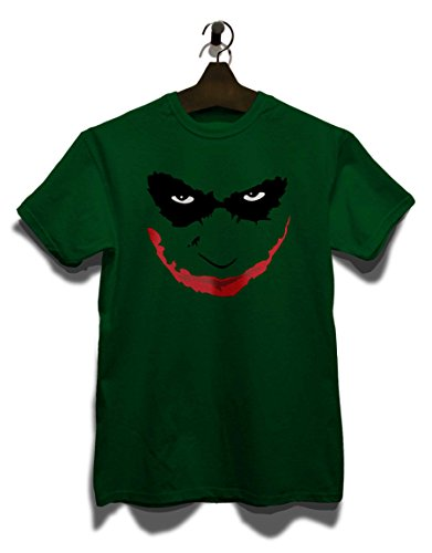 joker-heath-ledger-t-shirt-dunkelgruen-dark-green-m