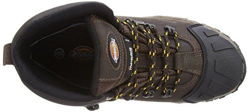 Dickies Medway, Chaussures de sécurité Adulte Mixte Marron (Brown)