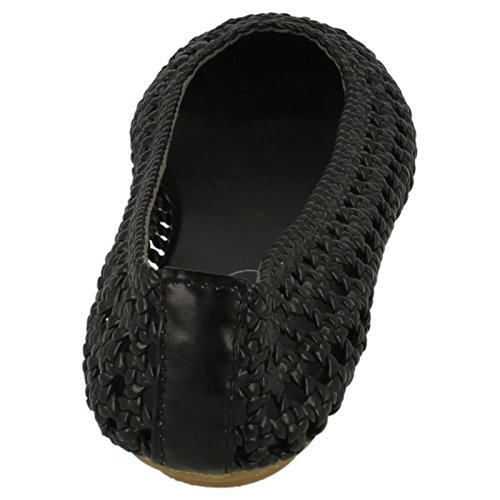 Spot On , Ballerines pour femme Noir - noir