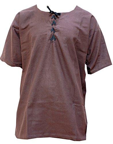 Trollfensen Mittelalterliches Hemd Kurzarmhemd