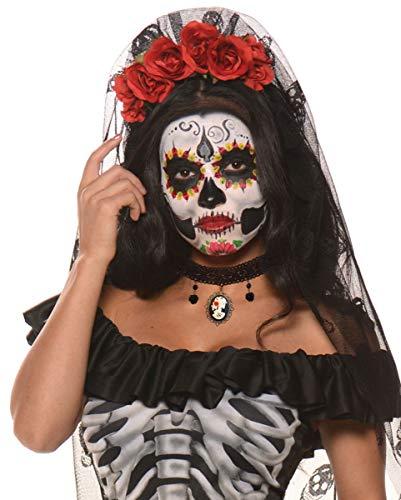 Toten Halsband mit Cameo für Halloween ()