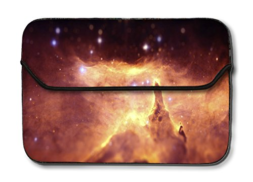 Theskinmantra 11 - 11.1 inch Galaxy beauty designer Laptop Sleeve / Slip case bag for Apple Macbook Air(multicolor)