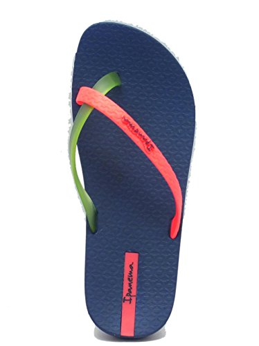 Ipanema  81137 Mix Color Fem FF Blue/Green/Pink, Damen Zehentrenner Mehrfarbig Multicolore Blue/Green/Pink