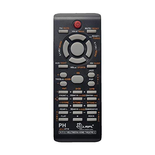 LOHAYA Home Theater Remote Compatible for Phillips Home Theater System Remote Control (Please Match The Image with Your Old Remote)