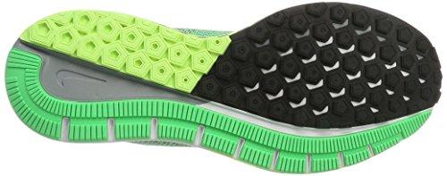 Nike Air Zoom Structure 20, Scarpe da Corsa Uomo Verde (Electro Green/White/Black/Ghost Green/Stealth)