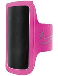 Nike Lightweight brazo banda 2.0 Un tamano Vivid Pink / Plata