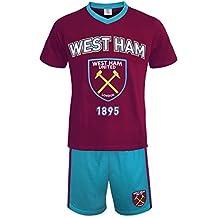 West Ham United FC - Pijama corto para hombre - Producto oficial