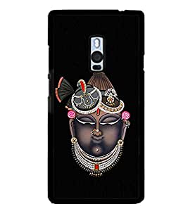 PrintVisa Lord Shri Shrinath Ji High Glossy Designer Back Case Cover for OnePlus 2 :: OnePlus Two
