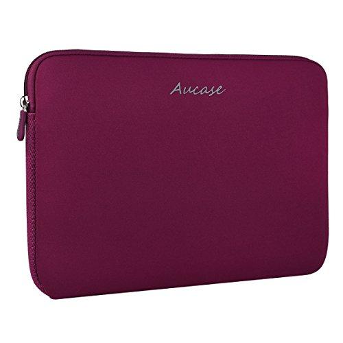 Aucase 13,3 14 Zoll Laptop Hülle, Laptoptasche, Notebooktasche. Ultradünne, Stärkste Neopren Wasserfeste Schutzhülle für Laptops / Ultrabooks in Vielen Farben erhältlich