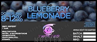 Twisted Aroma Blueberry-Lemonade von Twisted Vaping