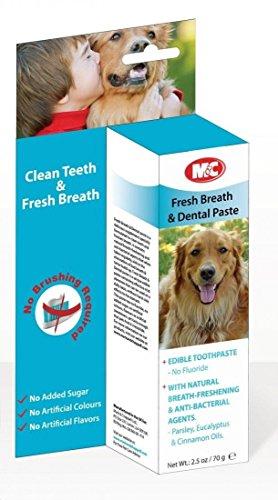 Artikelbild: M & C Fresh Breath & Dental Paste für Hunde & Katzen 70g 70g–Bulk Deal von 6x