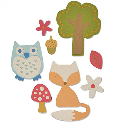 sizzix-woodland-set-by-my-life-handmade-thinlits-multicolore-confezione-da-12